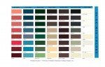SAF 56 Easy Mix Color Chart