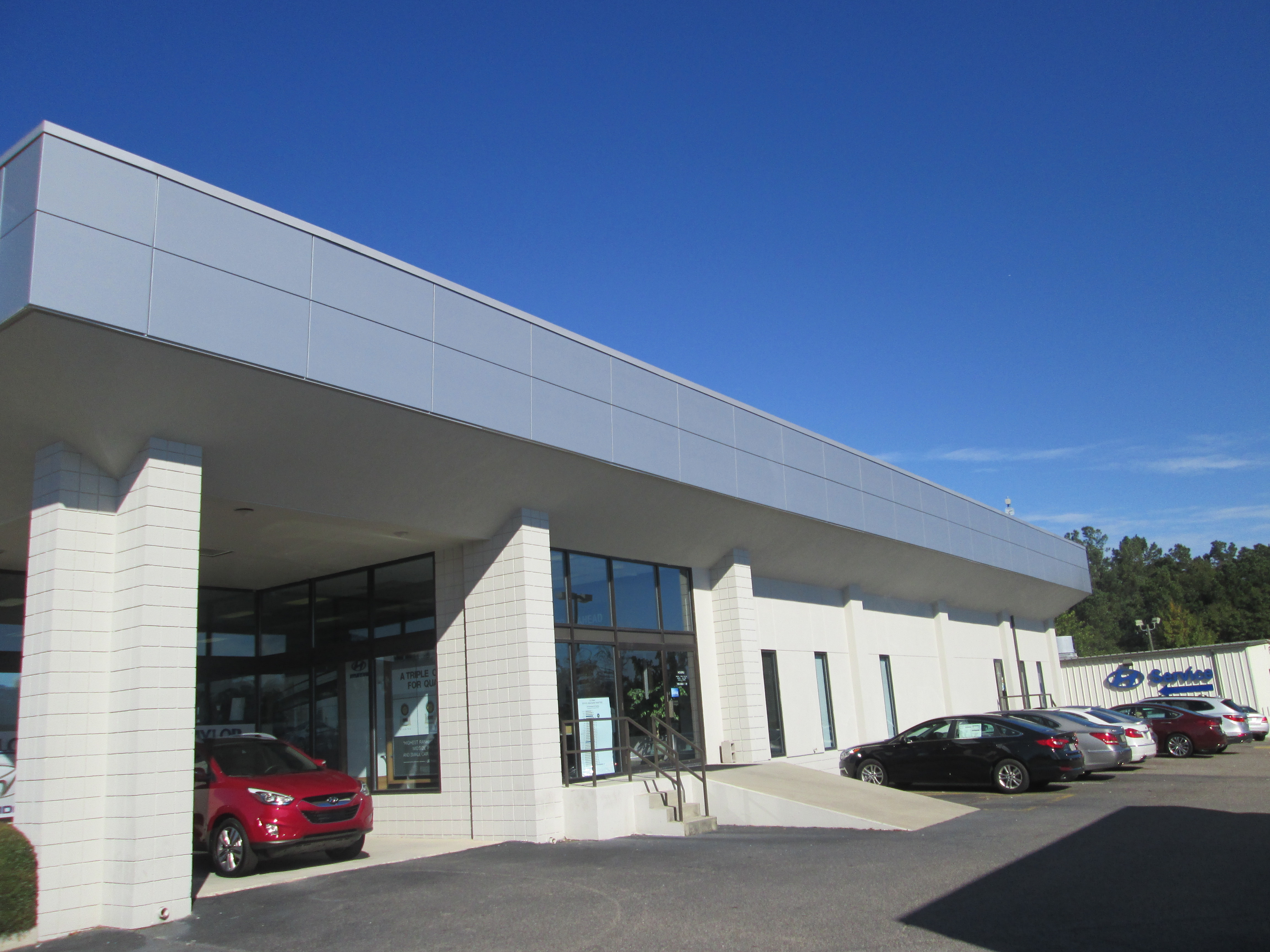 North Penn Mazda >> SAF RainScreen Panel Project: Taylor Hyundai, Augusta, GA SAF – Southern Aluminum Finishing Co, Inc.