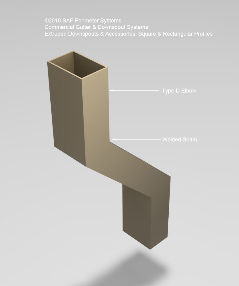 commercial downspouts saf  u2013 southern aluminum finishing co