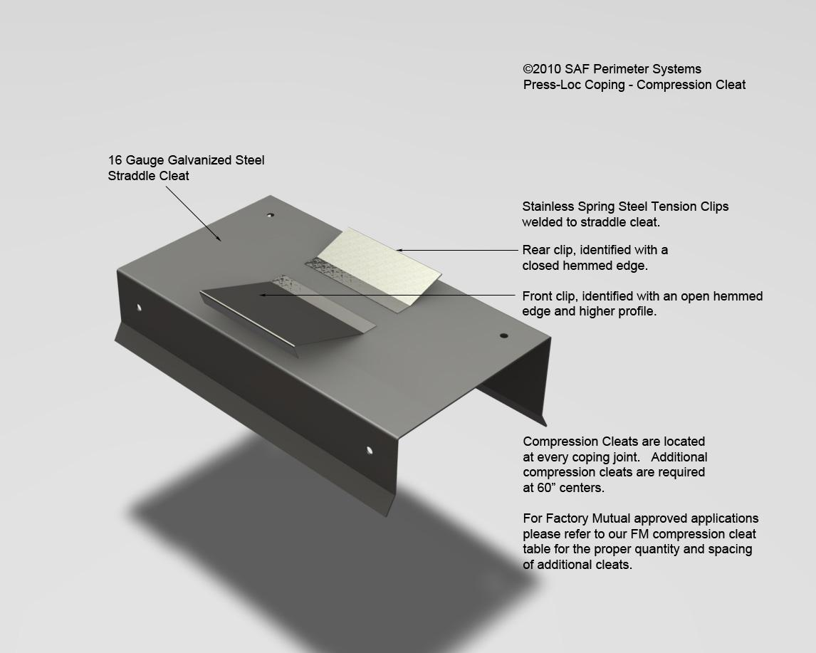 Wet Room Wall Panels >> Roof Coping Projects SAF – Southern Aluminum Finishing Co ...
