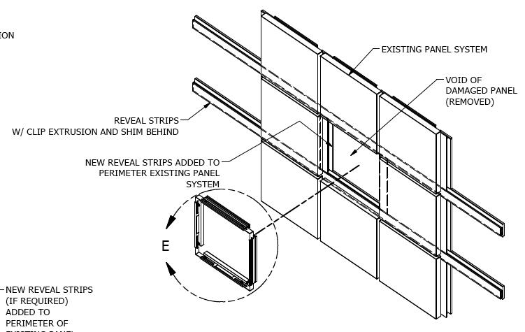 Saf Simple Fix A Single Building Panel Replacement Kit Saf