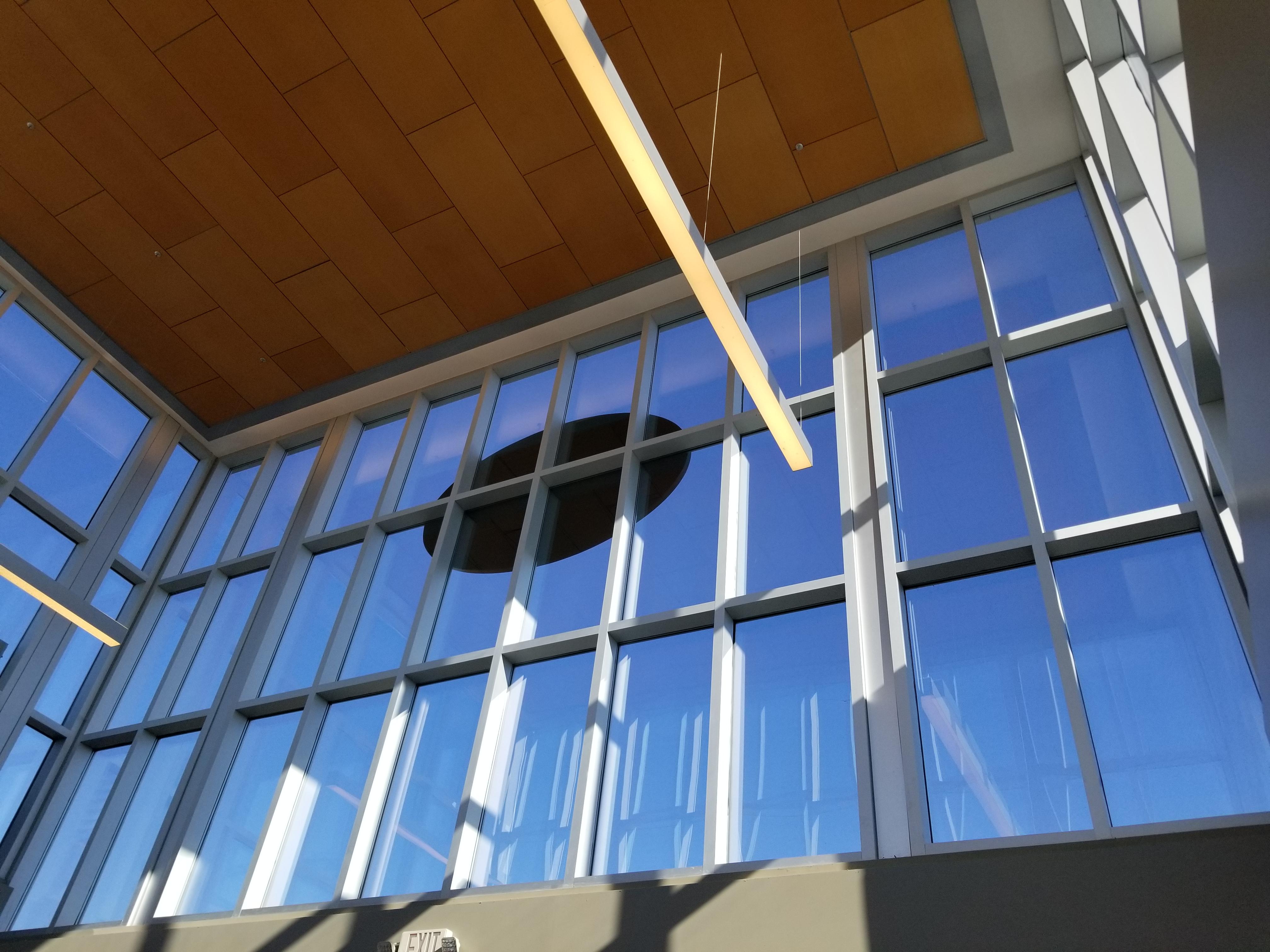 Clear Anodized Flat Sheet - allon Gateway Shopping Center