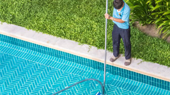 Swimming Pool Maintenance Photo