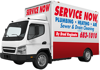 Service Now Plumbing And Drain Cleaning Truck