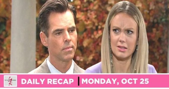 The Young and the Restless recap for Monday, October 25, 2021