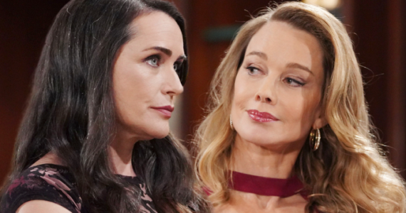 Quinn and Donna on The Bold and the Beautiful