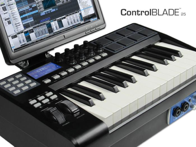 ControlBlade - Built-in Keyboard/Monitor,  i7, USB3 , Under $2k
