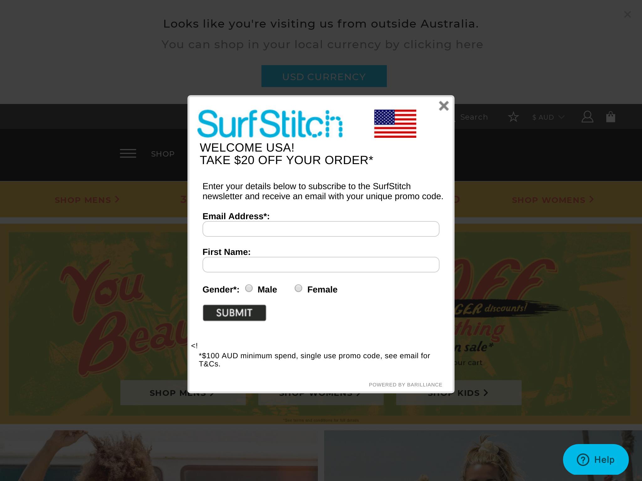 SurfStitch Traffic Stats