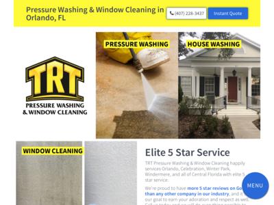 TRT Presssure Washing & Window Cleaning Revenue, Founder, Social