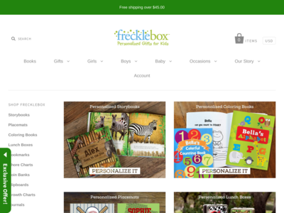 frecklebox Traffic Stats