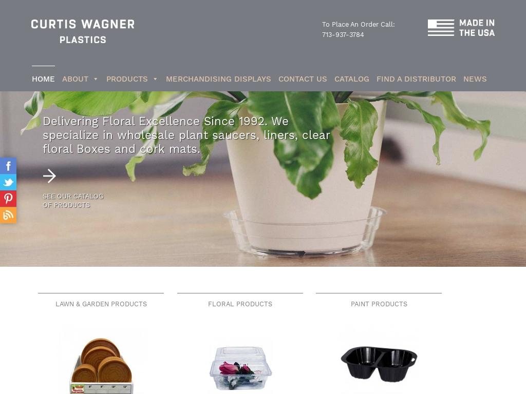 Curtis Wagner Plastics Corp Traffic Stats