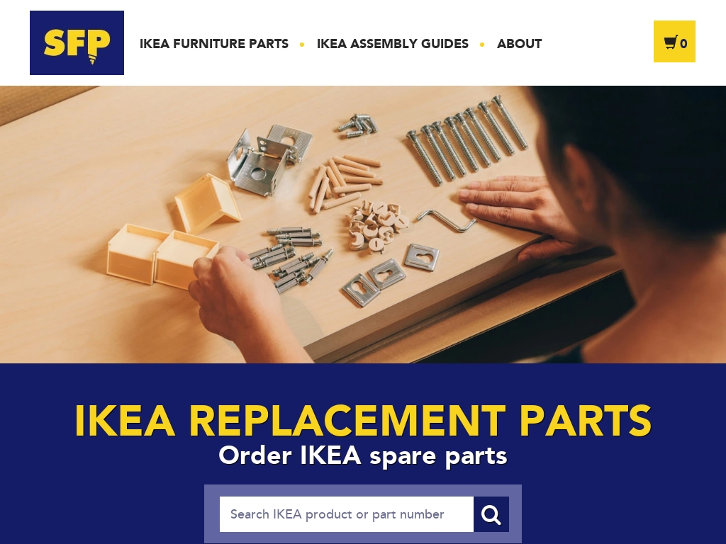 malm replacement parts