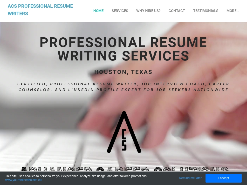 Acs Professional Resume Writing Services Traffic Stats