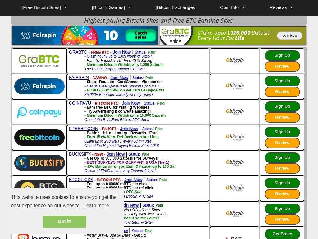 site-uri btc | Club PTC - Comunitatea celor care castiga bani online