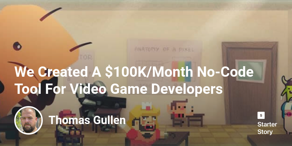 Hello everyone! My name is Thomas Gullen and I'm the co-founder of Construct 3 along with my brother Ashley. Construct 3 is a game engine that allow