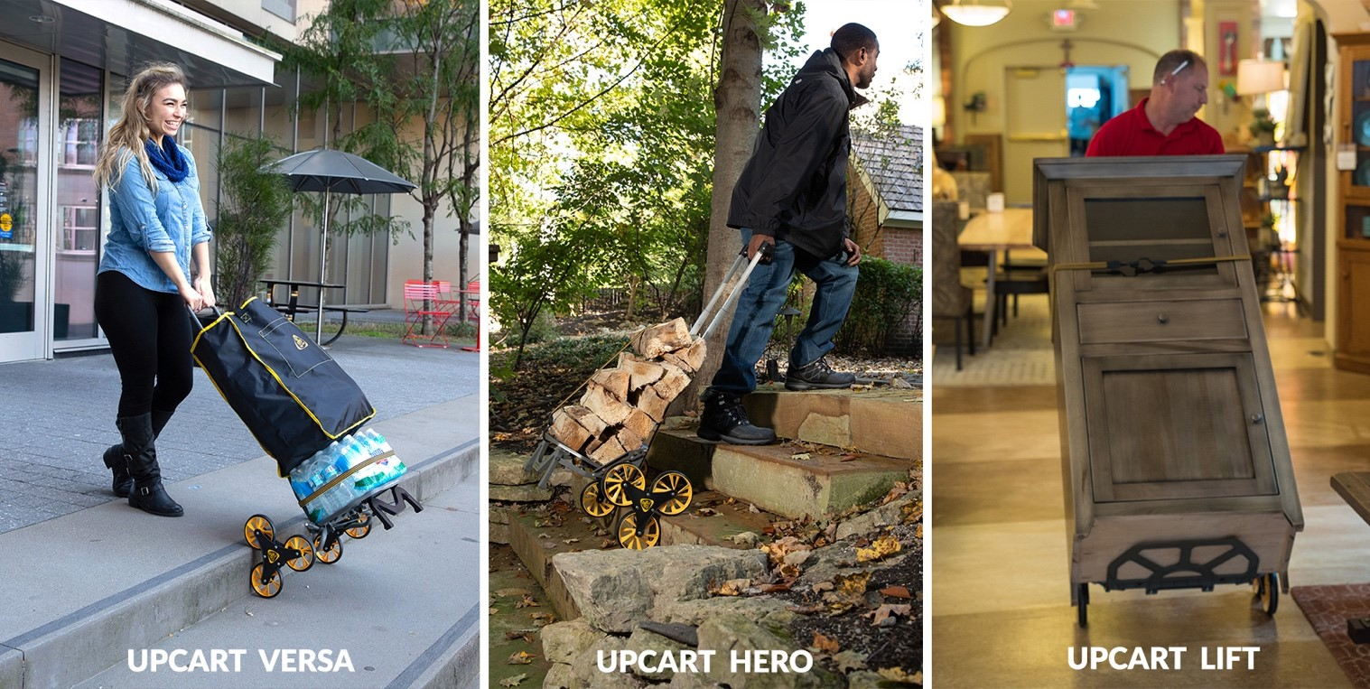 How Two Unlikely Partners Invented the UpCart and Went Viral