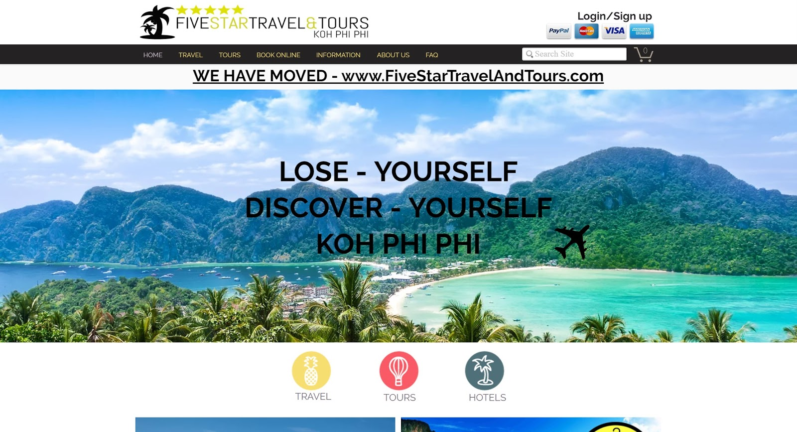 Five Star Thailand Tours - 2016