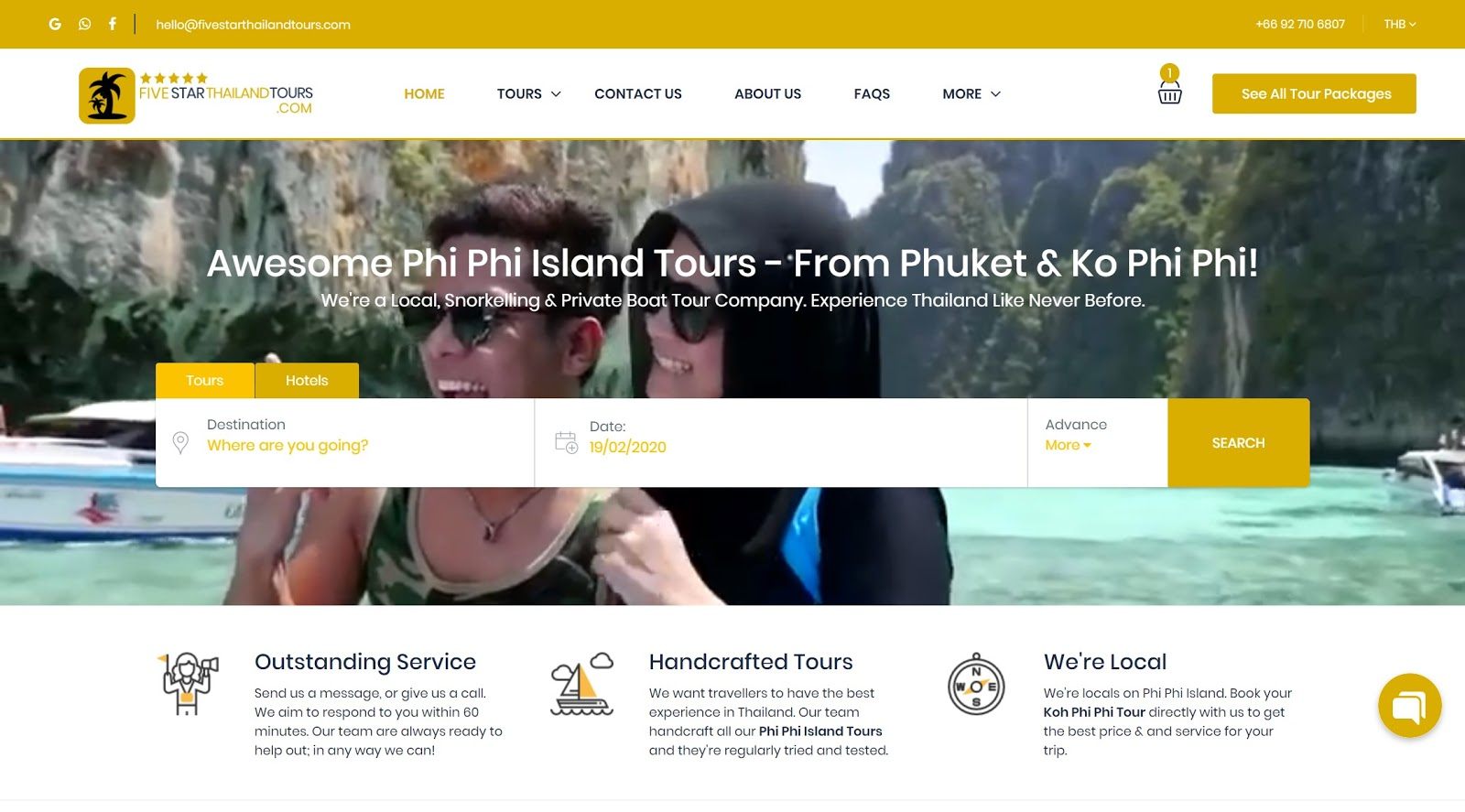Five Star Thailand - Phi Phi Island Tour