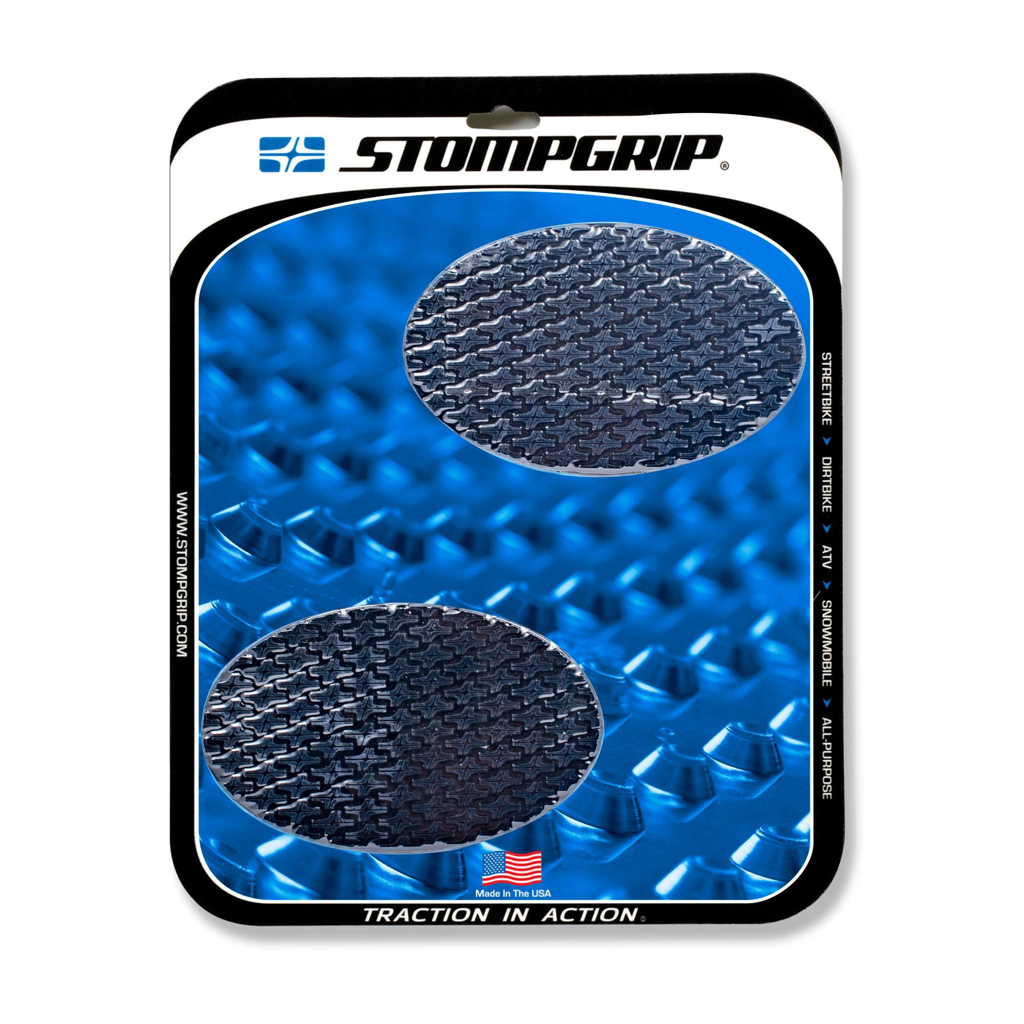 UNIVERSAL OVAL TANK GRIPS - ICON