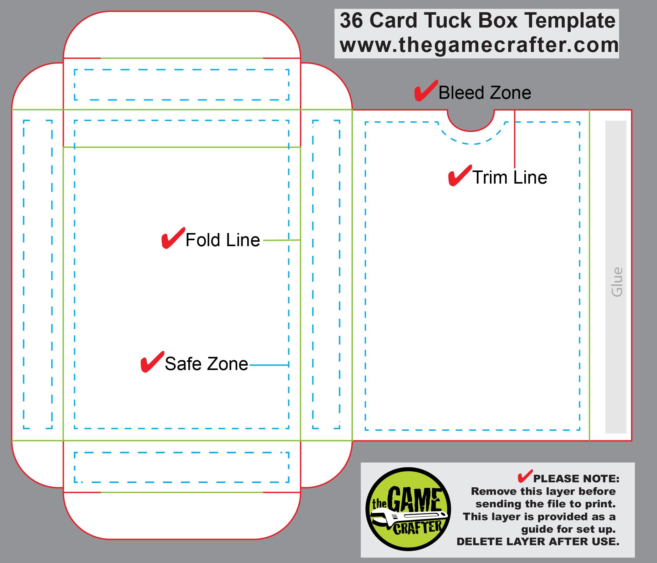 poker tuck box 36 cards. Black Bedroom Furniture Sets. Home Design Ideas