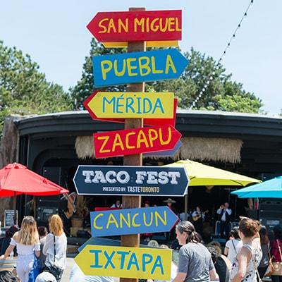 Taco Fest Toronto | Cravings Food Co.