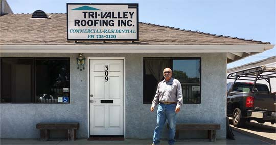 Tri-Valley Roofing Showroom