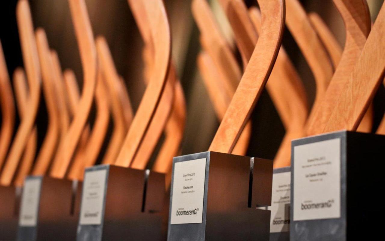 U92 primée lors de la cérémonie des Prix Boomerang 2015