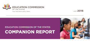 education commission of the states report