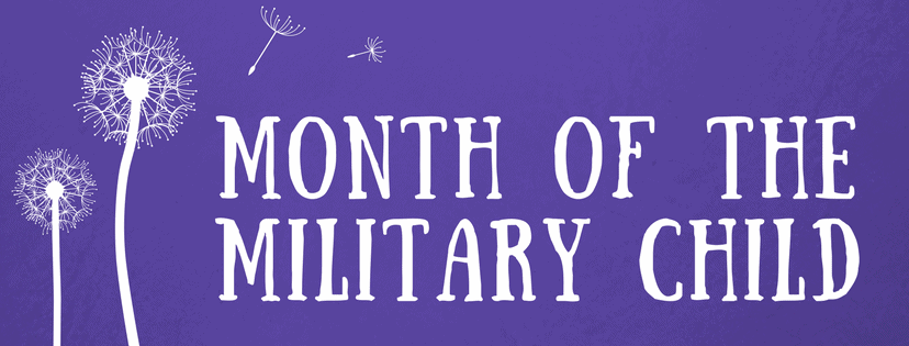 Ideas for Celebrating the Month of the Military Child 2019 ...
