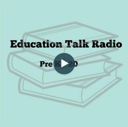 education talk radio logo