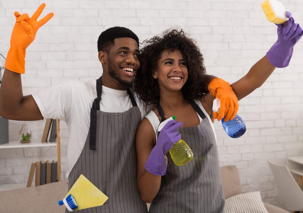 A melhor forma de dividir as tarefas domésticas!