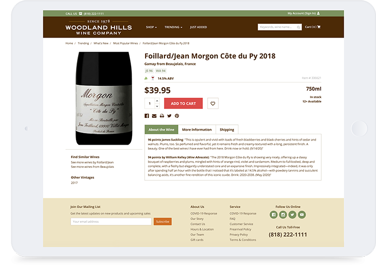 1893 Cd Woodland Hills Wine Company Case Study Tablet Mt1