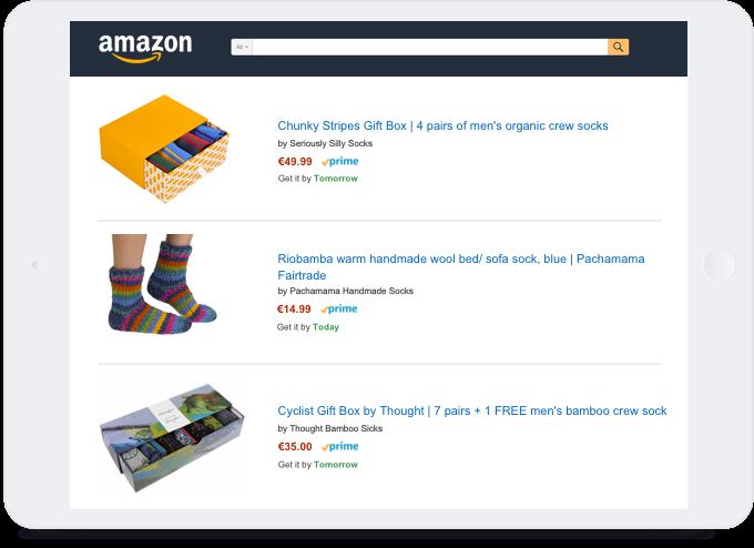 BigCommerce ecommerce Amazon integration Seriously Silly Socks