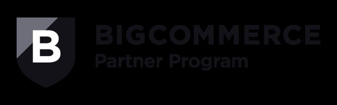 Big Commerce Partner Program Logo 2019 Black Web
