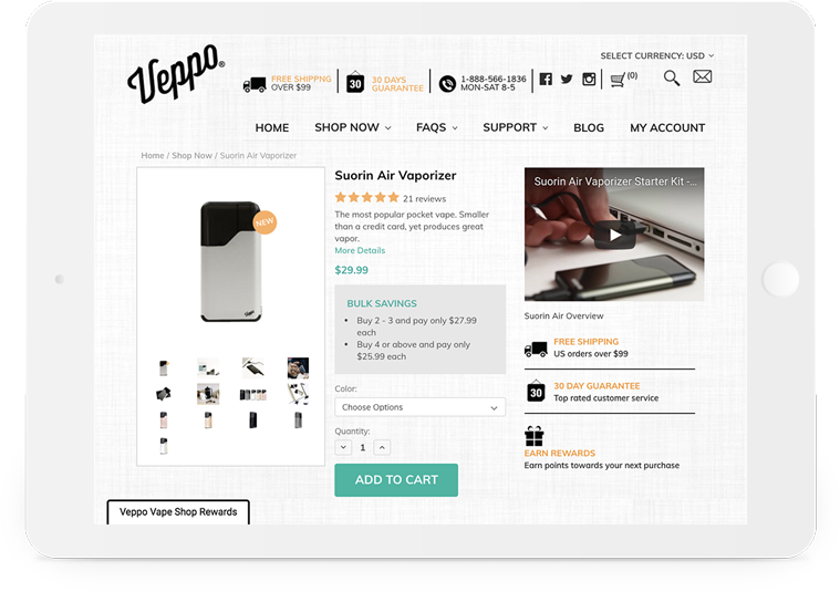 Bigcommerce Veppo Product