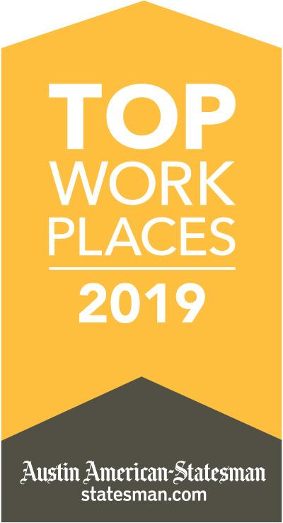 Austin American Statesman Top Work Places 2019 Award