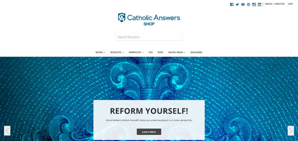 Catholic Answers Shop