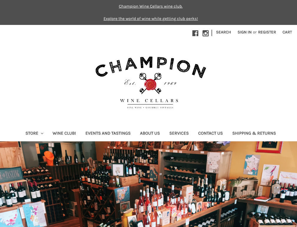 Champion Wine Cellars