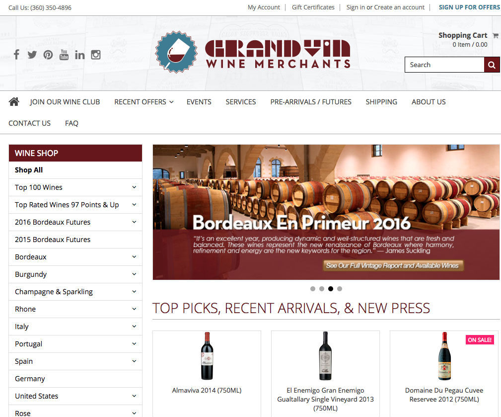 Grand Vin Wine Merchants