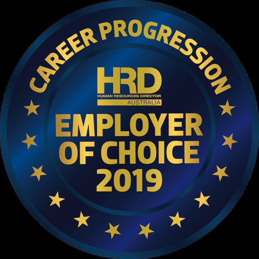 HRD Australian Employer of Choice 2019