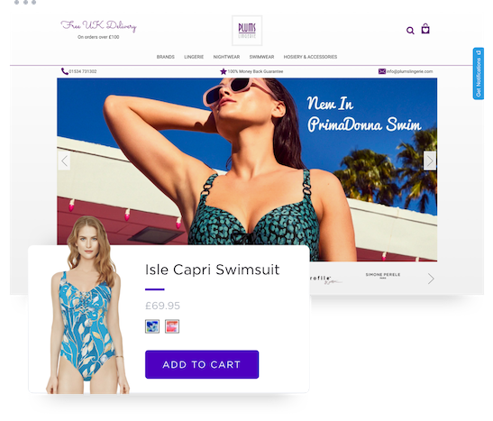 Plums Lingerie Partner Case Study