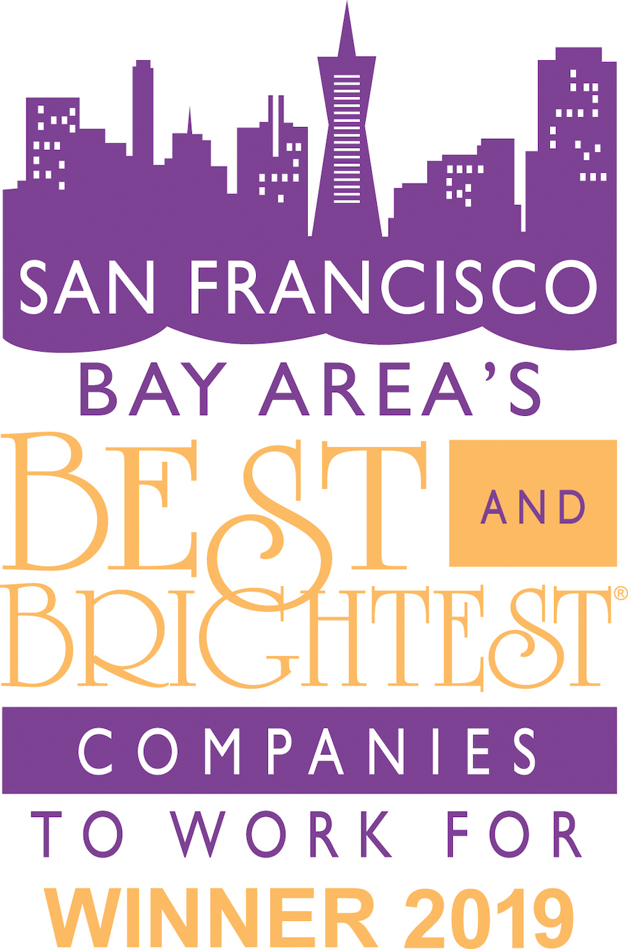 San Francisco Best and Brightest Companies to Work for 2019 Award