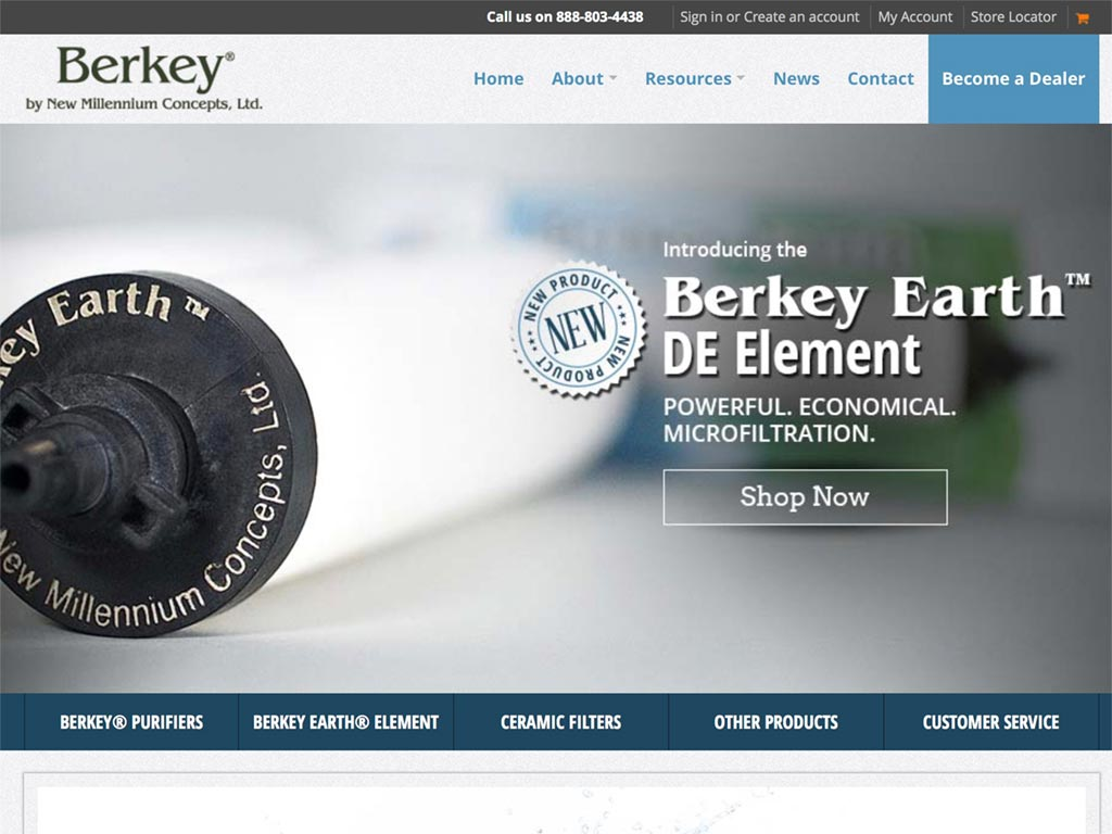 Berkey Water