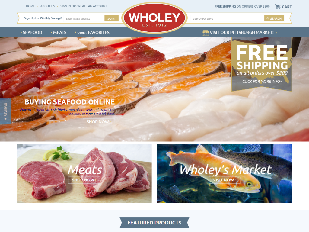Wholey Seafood