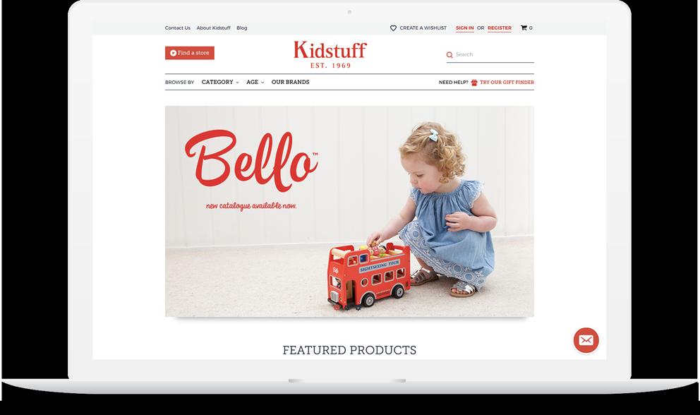 Bigcommerce Kidstuff Home