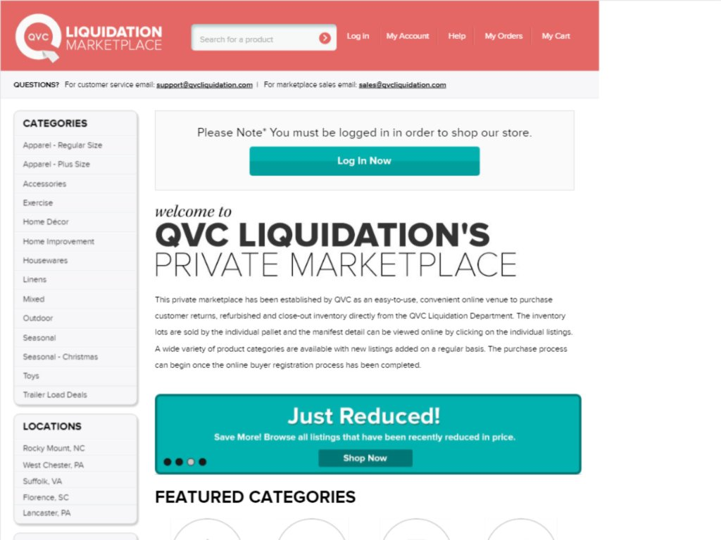 QVC Liquidation