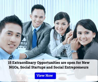 15 Extraordinary Opportunities are open for New NGOs