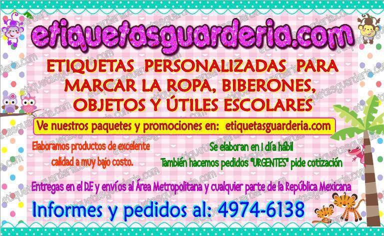 160 Etiquetas Marcar Ropa Biberones Objetos Envio Gratis Anunciosgratis Mx