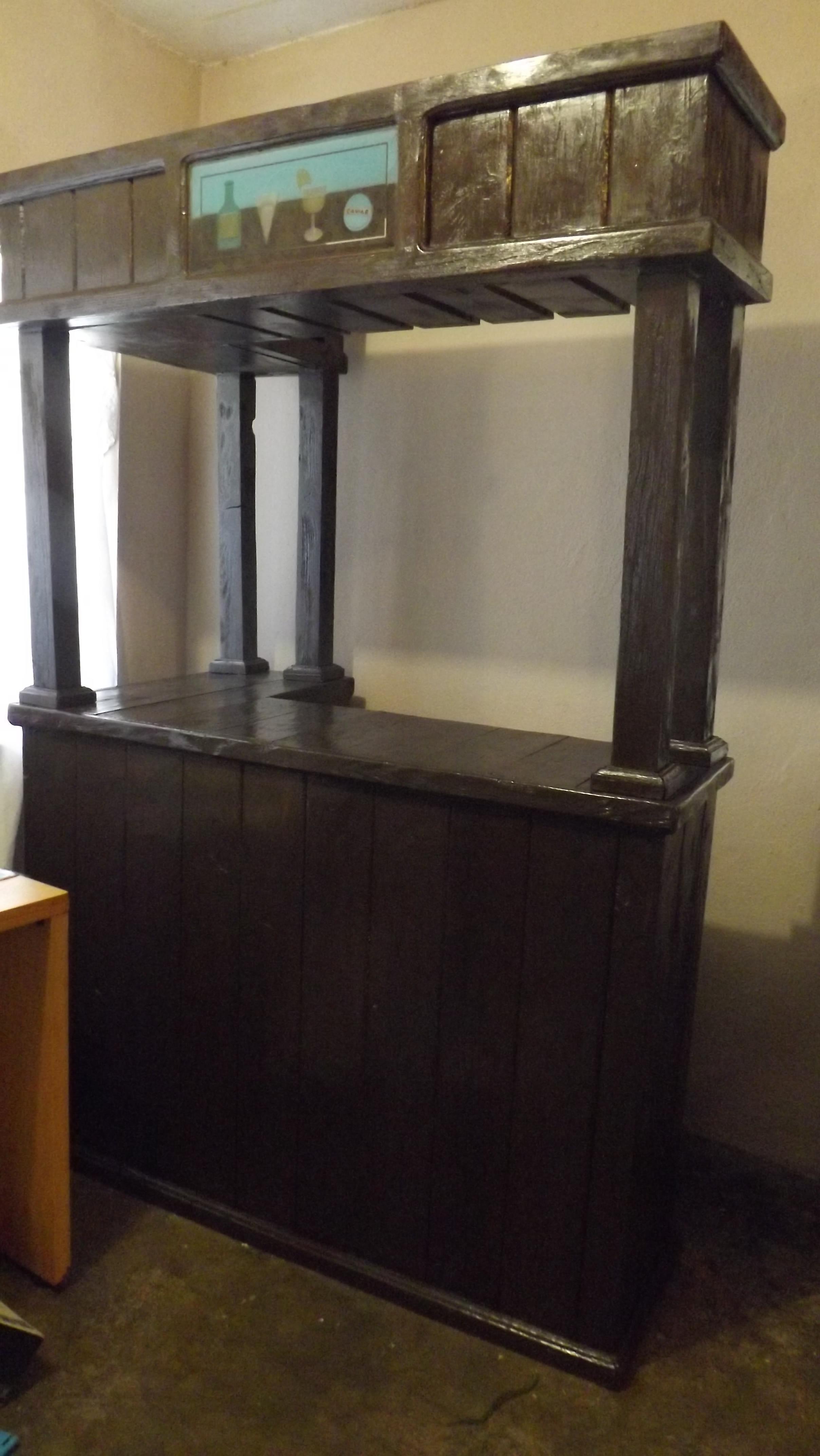 Cantina 100 madera for Diseno de cantinas para el hogar