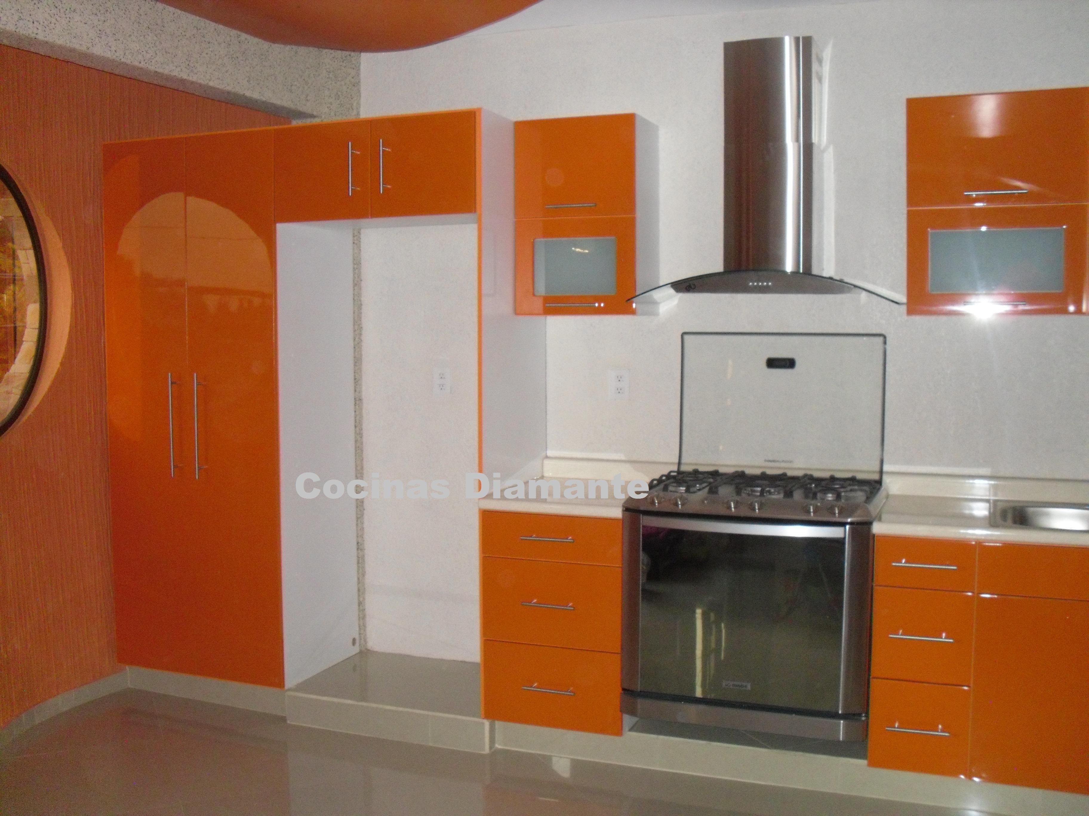 Cocinas integrales y closets for Cocina integral l